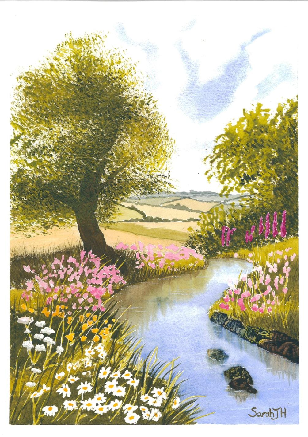 Floral Stream 2020-10-26