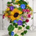 Flowers In A Flour Jar (18x24,300)