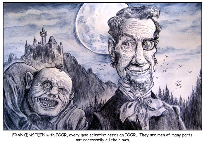 Frankenstein & Igor-small