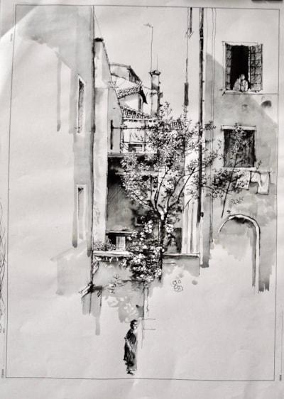 From the window, Cannareggio