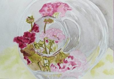 Geranium jar