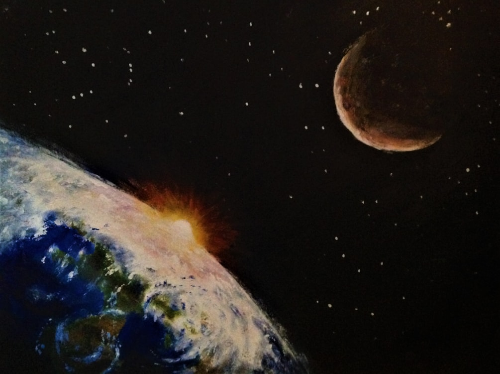 Gift of Planets 16 x 12 £190 10 02 20