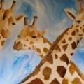 Giraffes Painting 3