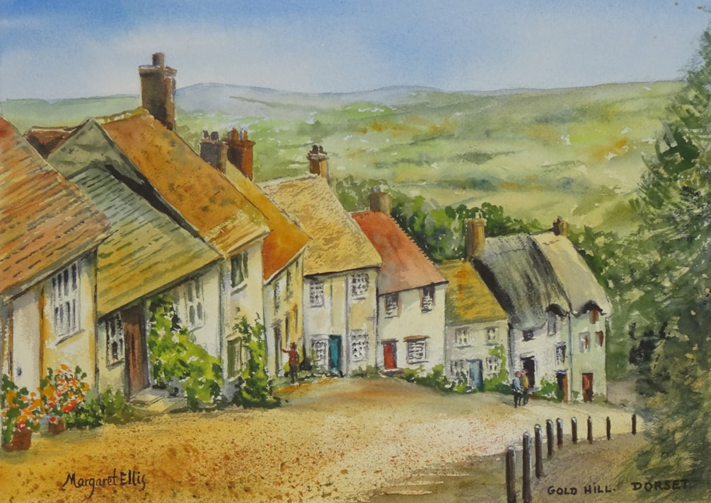 Gold Hill, Dorset
