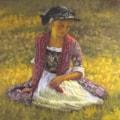Grace, 20 x 20, oil on canvas, 2021, 2844x2844