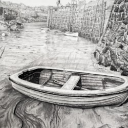 In the Shelter of the Harbour, Coverack