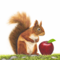 Janine Lees Art - Red Delicious png