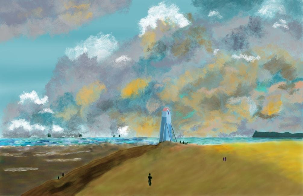 John Constable Harwich Lighthouse