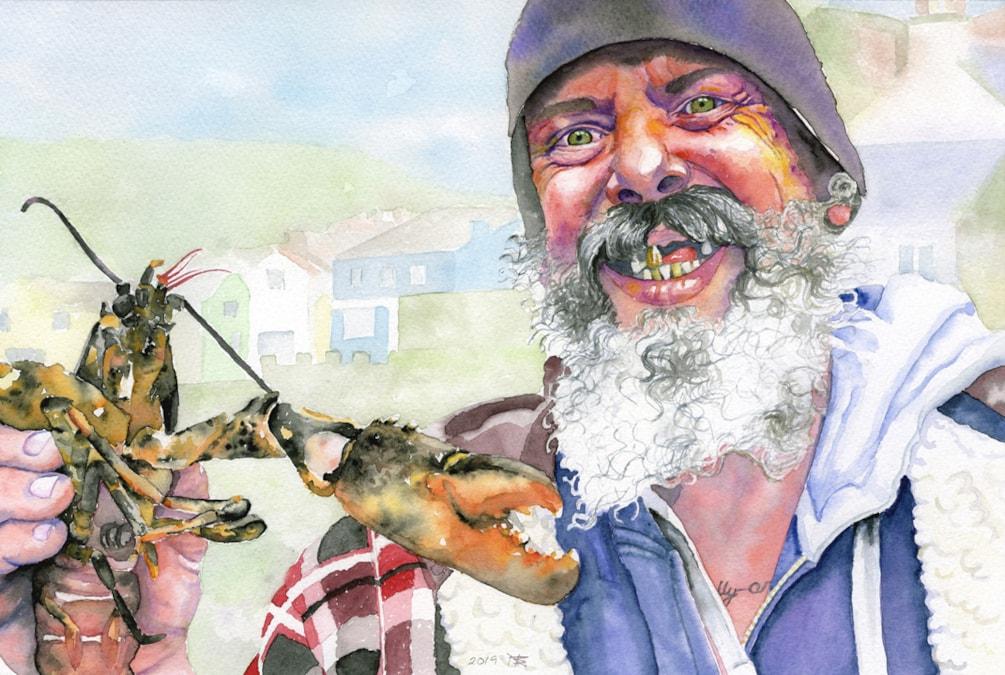 John, Lobster Fisherman cropped 72dpi