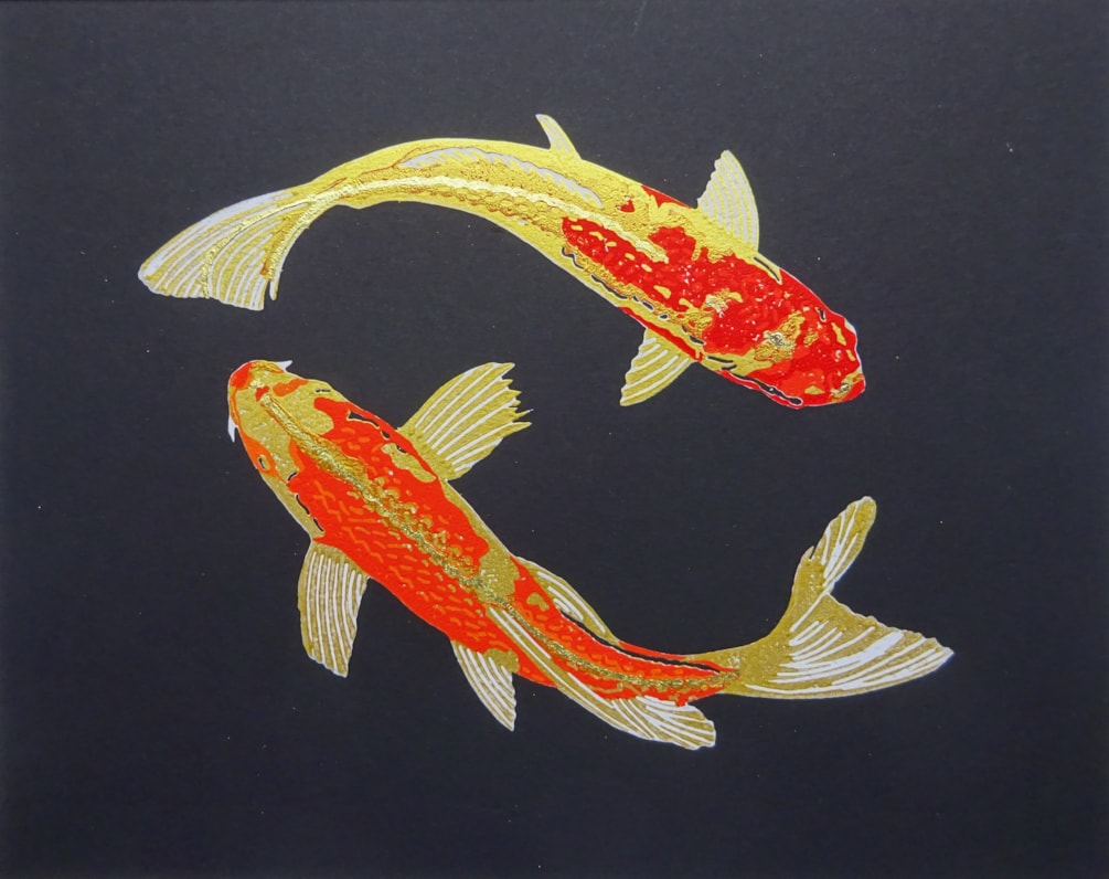 Koi gold close crop cover pic
