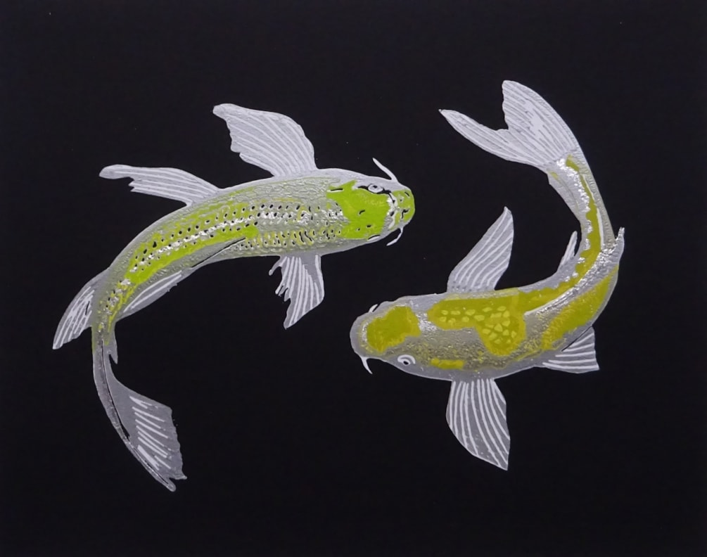 Koi silver close crop cover pic
