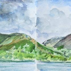 Lakes sketchbook