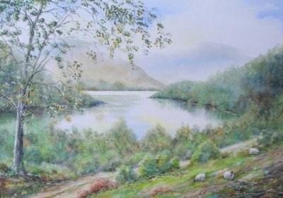 Lake view, Killarney