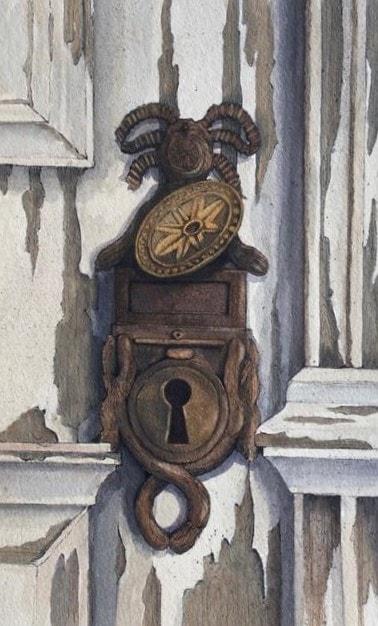 Large keyhole