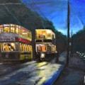 Last Tram on a Wet Night