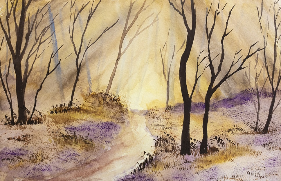 Late Autumn Woodlands 72dpi