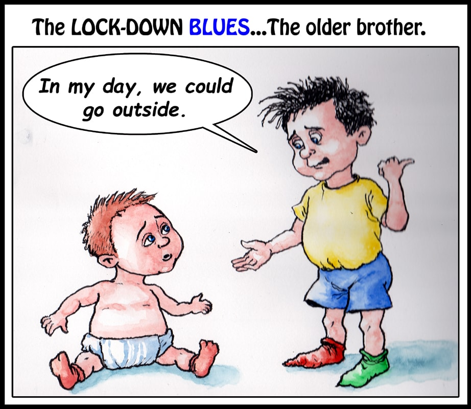 Lock-down Blues-older brother-small