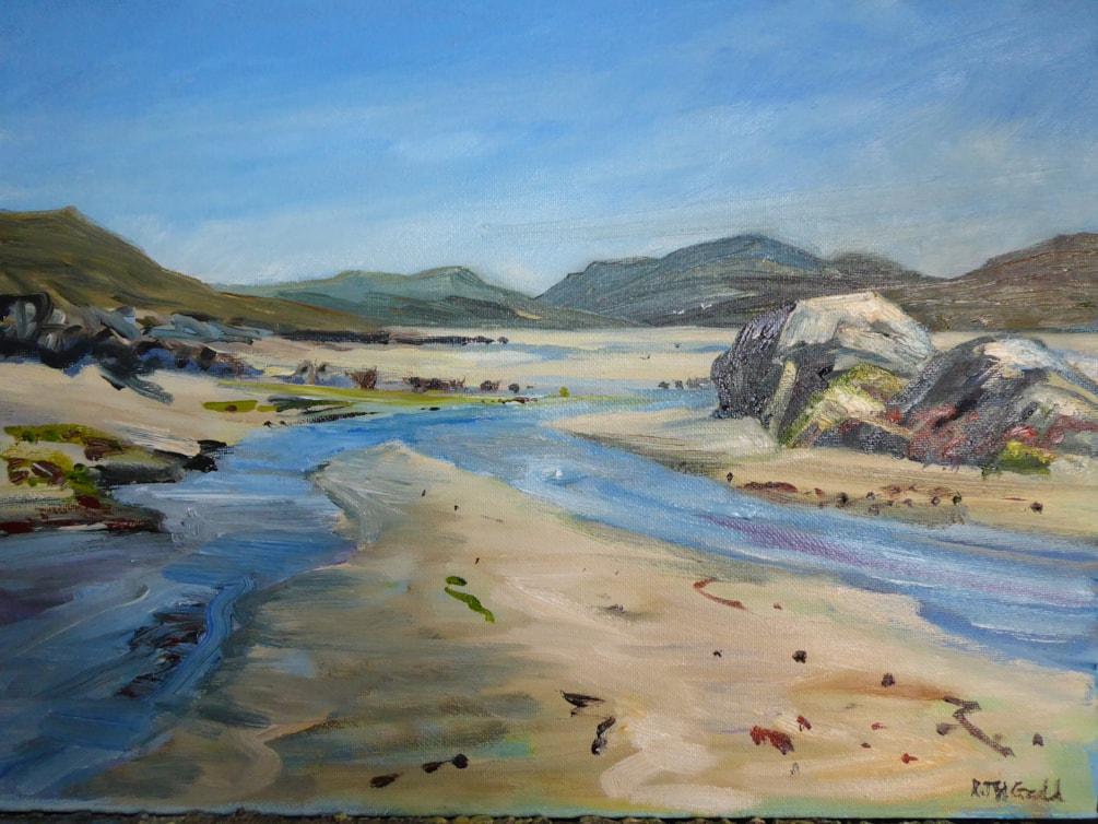 Luskentyre Rocks and the Bealach oils 25.11.19.