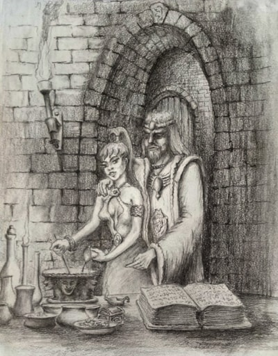 Merlin and Vivian
