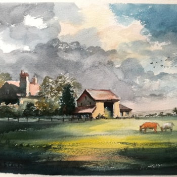 'Moody Day, Burnham Norton, Norfolk'