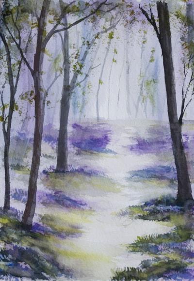 Morning Spring Woodlands dm 72dpi