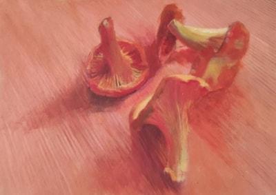 Mushrooms- Lea A Cupiał
