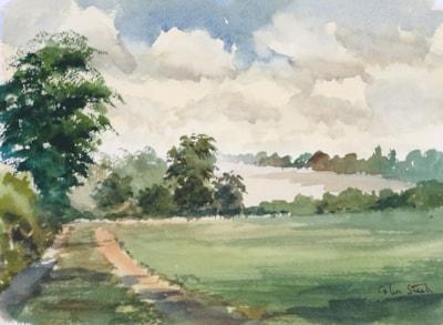 Near Galleywood, Essex.