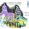 Nottingham council house postcard 3