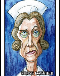 Nurse Ratched -small