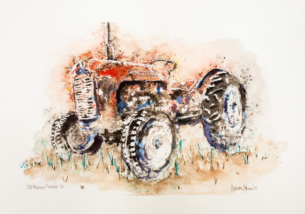 Old Massey Tractor '20