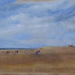 On Rhyl sands