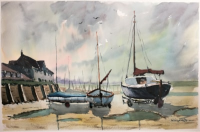 On Their Trailers, Brancaster Staithe