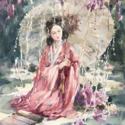 Oriental Beauty - summer