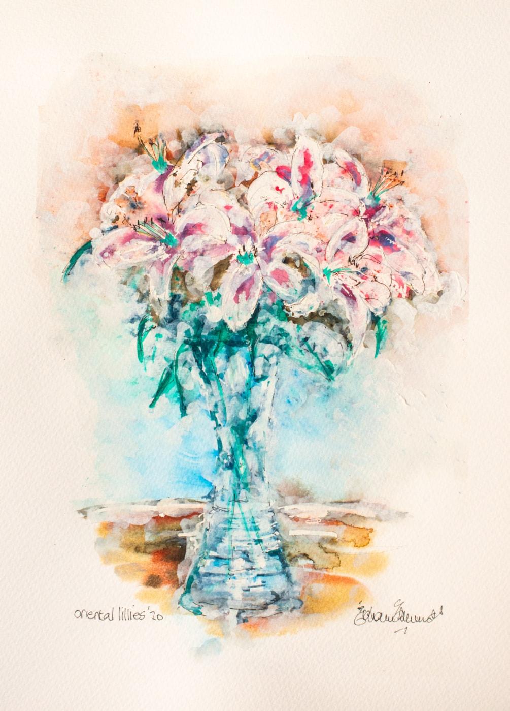Oriental Lillies '20