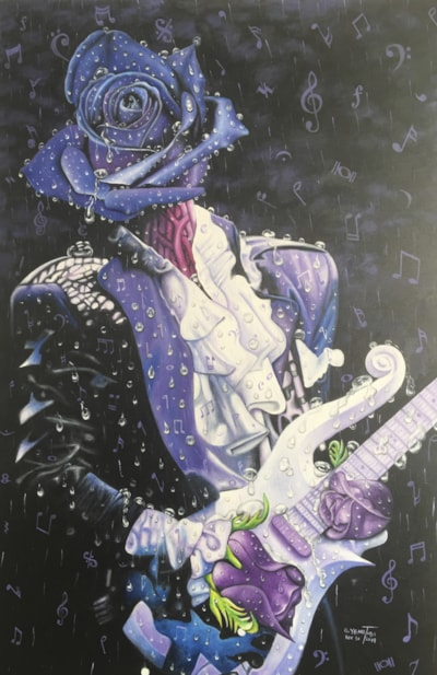 PRINCE Purple Rain Music Rain