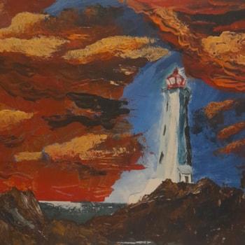 Palette practice lighthouse.