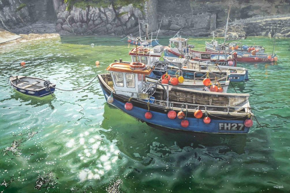 Pause While the Tide Replies, Coverack Low Res