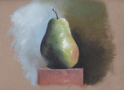 Pear Pastel Study copy