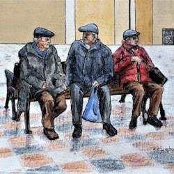 Peeky Pensioners