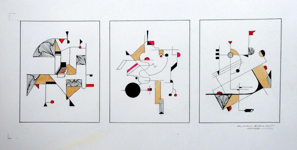 Pen Abstract 30