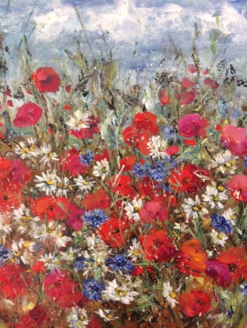 Poppies in the June Border