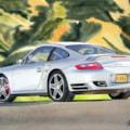 Porsche 911 turbo, sharp