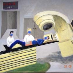 Preparing for radiotherapy during lockdown