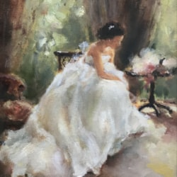 Preparing for the Great Moment - the Bride