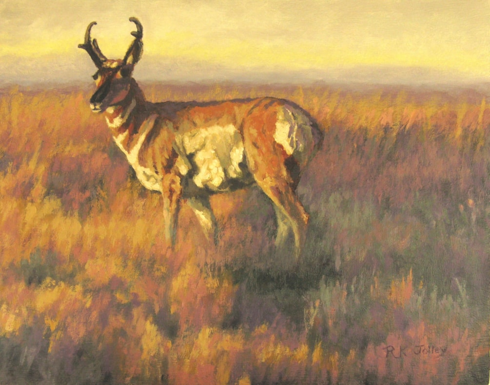 Prince of the Prairie, 11 x 14, oil on board, 2021  2402x3057
