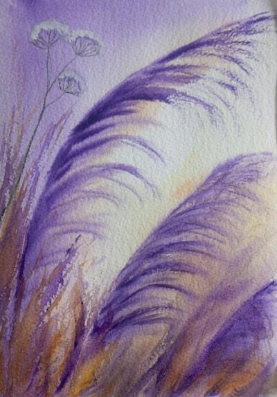 Purple Grasses 72dpi