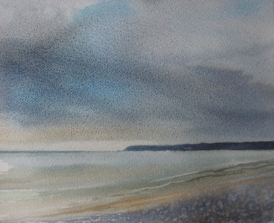 Rain Clouds on Marazion Beach 72