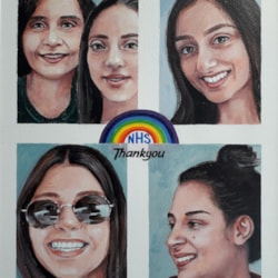 Raj & her Family
