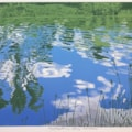 Reflections, Ferry Meadows by Margaret Mallows