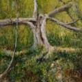 Riven tree acrylic